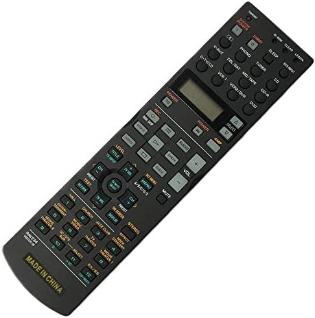 Calvas Original Remote Control RAV234 For YAMAHA AV Player RX-V730AV RX-V740 RX-V1300 DSP-AX740 DSP-AX1300 RX-V1200 HTR-5590 Color: RAV234