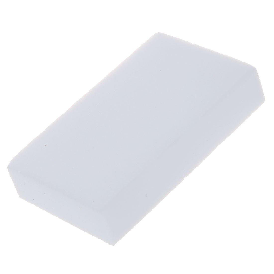 WOVELOT R 100x60x20mm 10pcs Eponge Magique Gomme a Effacer Melamine Nettoyeur-Blanc