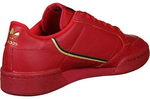 Scarpa Adidas Continental W Rosso 80 T68xqrT