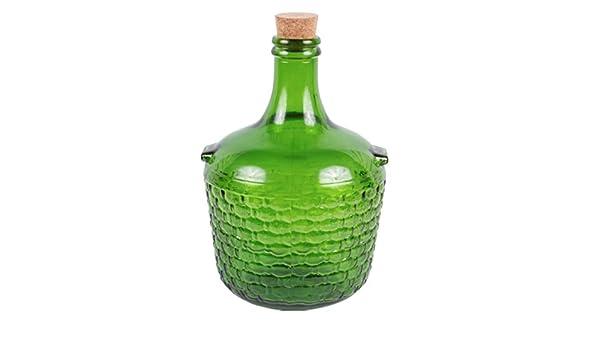 do-it-at-home Damajuana Vidrio Gallon Jarra 4 + Corcho Natural: Amazon.es: Hogar