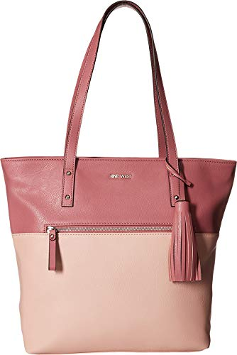 Nine West Womens California Casual Tote Modern Pink/Peony One Size