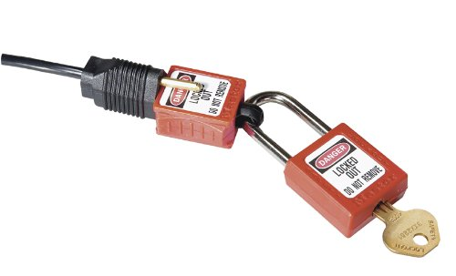 Master Lock Lockout Tagout Device, Electrical Prong Plug Lockout Device, 110 and 120 Volts, S2005 from Master Lock