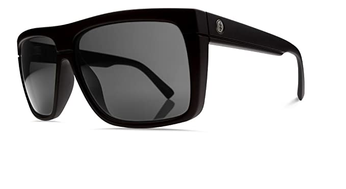 Electric Black Top Sunglasses Gloss Black with OHM Grey ...