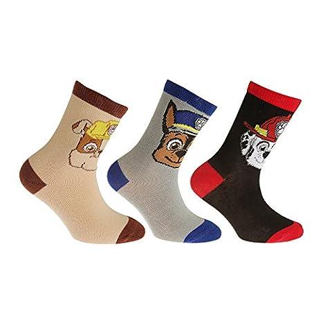 Paw Patrol Childrens/Kids Official Cotton Rich Socks