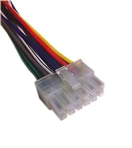 dual xdm 260 wiring harness dual head unit wiring harness amazon.com: dual xdm260 / xdm270 cd receiver wiring ...