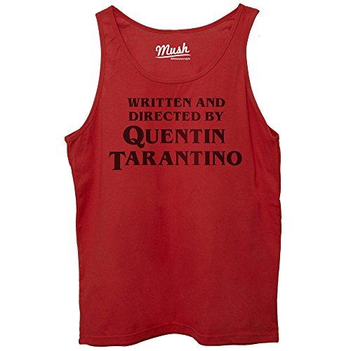 Quentin di MUSH Dress Coda Your Titolo Rossa REGIA Canotta by Style Tarantino Film XpqwAqZT
