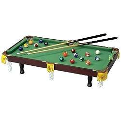 Kid's Club Fun Miniature Tabletop Pool Table NEW!