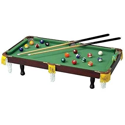 Kidu0027s Club Fun Miniature Tabletop Pool Table ...