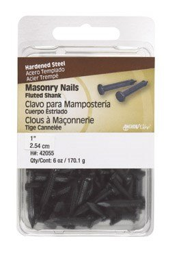 The Hillman Group 42055 Masonry Nails with Fluted Shank