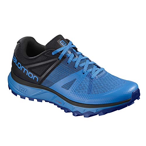 Uomo Running Flash Trail Bleu Da Scarpe Flash noir Salomon Trailster bleu TOwTC