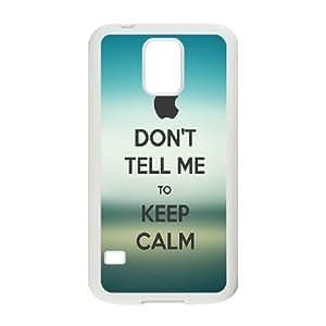 Yoda Keep Calm Samsung Galaxy S5 Cell Phone Case White Vozgn