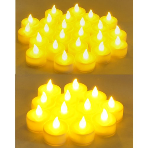 Instapark LCL-72 Battery-powered Flameless LED Tealight Cand