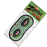 "The Sleep Of The Living Dead Wear this nylon zombie sleep mask embellished with haunted zombie eyes! Everybody will think you're just one of the living dead taking a break and leave you alone. Flight attendants love these! Measures 7-1/4"" wide x 3-1/2"" wi"