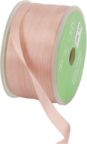 Mauve Silk Ribbon - 5