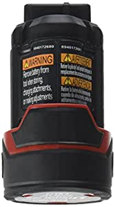 Chicago Pneumatic Tool CP12XP 12-Volt Battery for Cordless, Red/Black