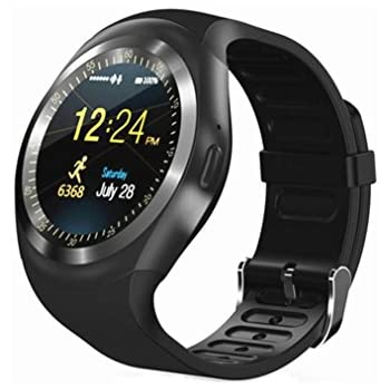 Amazon.com: Bluetooth Smart Watch KW18 1.3 inches IPS Round ...