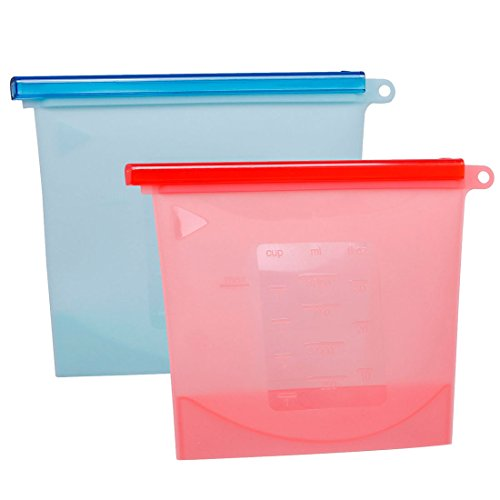 Reusable Silicone Kitchen Storage Leak Proof