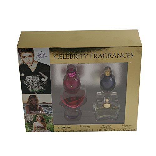 CELEBRITY FRAGRANCES 4 PC GIFT SET by (Obsession Gift Set Spray)