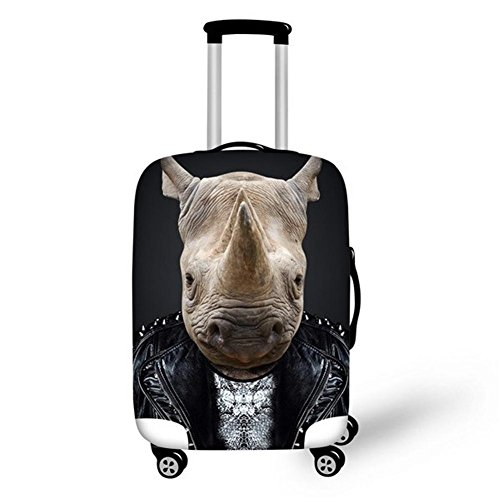 Dbtxwd Suitcase Protective Cover 3D Animal High Elastic - Home Basics Trunk Organizer