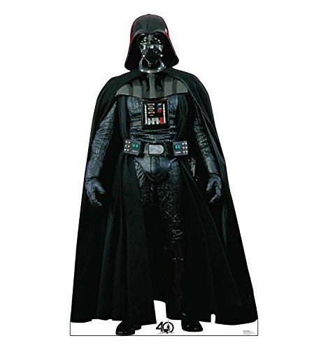 Advanced Graphics Darth Vader Life Size Cardboard Cutout Standup - Star Wars 40th Anniversary