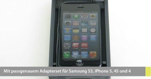 Armor-X wasserdichtes & stoßfestes Profi Outdoor-Gehäuse für iPhone 5 und Samsung Galaxy S 3, mit Kopfhöreranschluss und Trageschlaufe (Farbe: weiss)