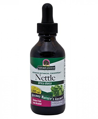 Nature's Answer Nettle Leaf with Organic Alcohol, 2-Fluid Ounces