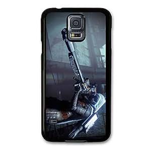 Destiny H8L5DP1I Caso funda Samsung Galaxy S5 Caso funda Negro