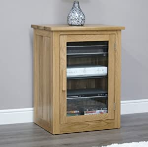 Arden Solid Oak Furniture Hi-Fi Cabinet: Amazon.co.uk