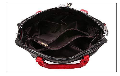 d'unité 24 Sacoche fourre Mode bandoulière Black croisés à Tout 23cm Centrale à PU La en Cuir Sacs Sacs 12 LIGYM bandoulière TfqPYY