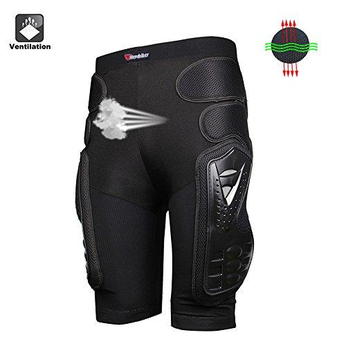 HEROBIKER Unisex Moto Sport Protective Gear Hip Pad Motorcross Off-Road Downhill Mountain Bike Skating Ski Hockey Armor Shorts (XL) by HEROBIKER (Image #6)