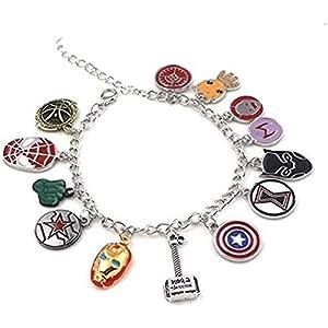 x-costume Fashion Bracelets Infinite Wars Inspired Unlimited Gambles Full Heroes Men Women Bracelet