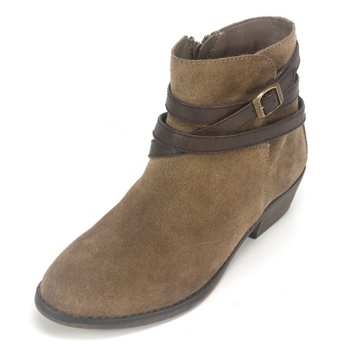 White Mountain 'Jitter ' Women's Bootie, Taupe - 8.5 M