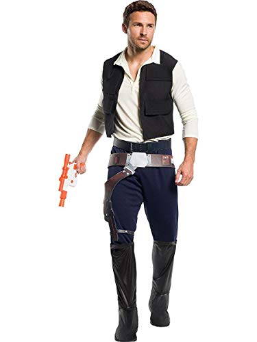 Rubie's Men's Standard Star Wars Classic Han Solo, As Shown, Extra-Large