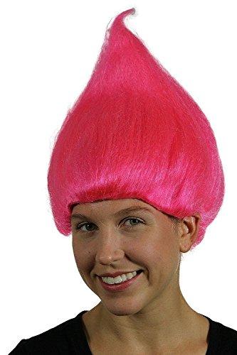 Pink Troll Wig (Pink Troll)