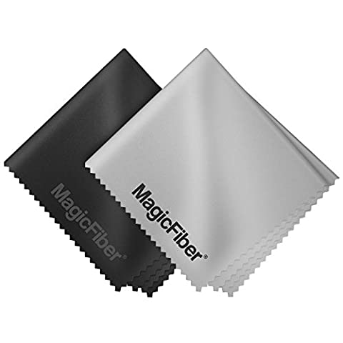 MagicFiber Microfiber Cleaning Cloths, 2 PACK (Y Clothes)