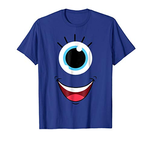 Funny Scary Monster Eyeball Face Costume Halloween -