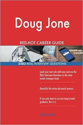 Doug Jones RED-HOT Career Guide