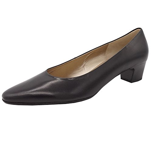 Gabor - Zapatos de vestir de Piel Lisa para mujer negro negro