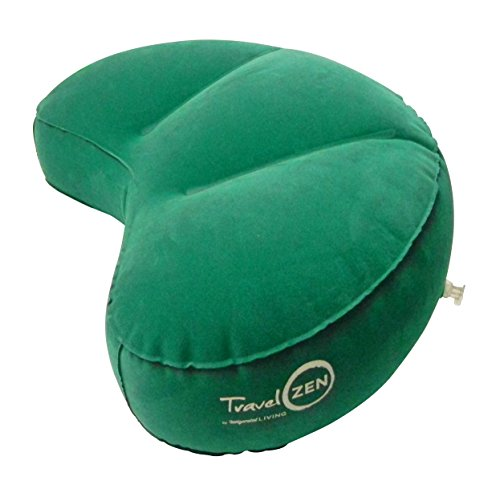 Travel Zen Inflatable Crescent Meditation Cushion By
