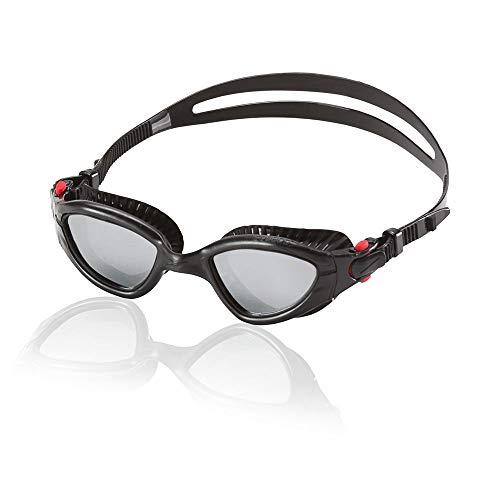 Speedo MDR 2.4 Polarized Swim Goggle, Black, One Size