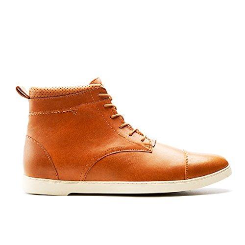 CRDWN Men's Rookwood Shoe, Camel, 8