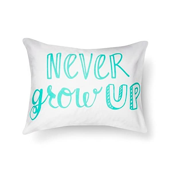 Pillowfort-Standard-Pillow-Sham-Never-Grow-Up-20-x-26