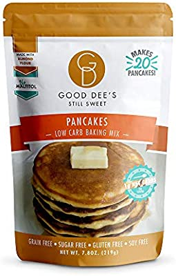 Good Dees Cookie Mix Pancake Mix-sin gluten, sin grano, y hecha ...
