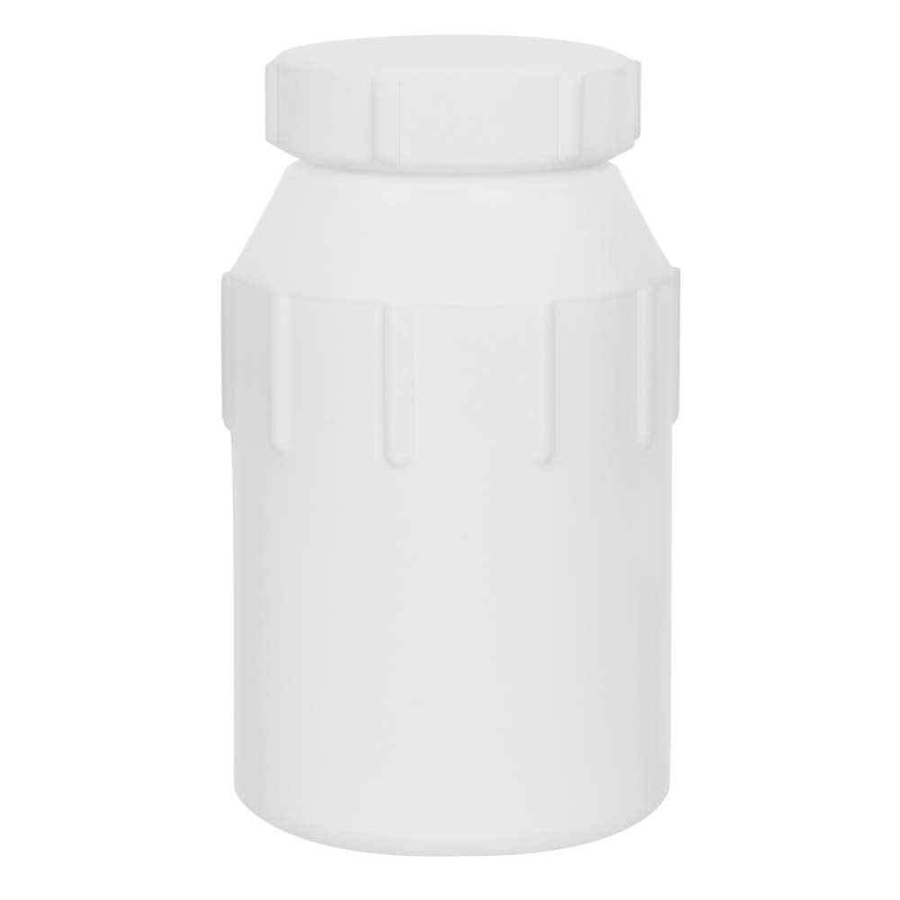 250mL Air Tight Heavy Walled PTFE Plastic Bottle with Screw Closure Lid (1 Bottle) by Product Conect