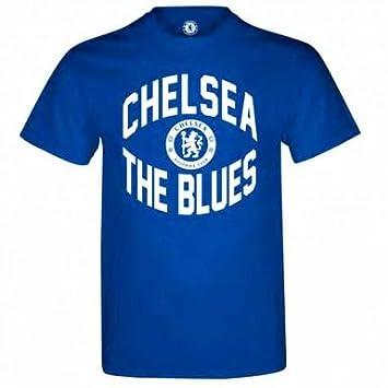 Amazon official chelsea fc blues t shirt sports outdoors chelsea fc blues t shirt voltagebd Gallery