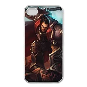 iphone4 4s phone case White League of Legends Darius DDD5298577