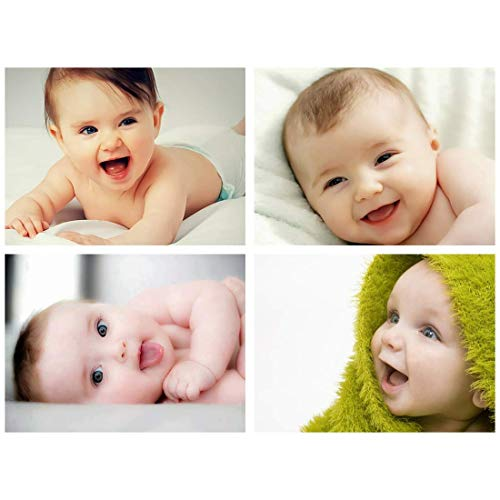 Set of 4 Smiling Baby Combo Posters for Pregnant Women PRINTNET