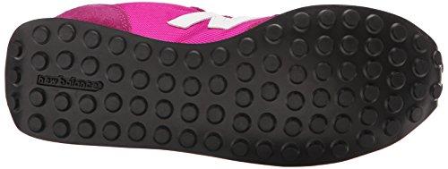New Balance Damen 487671 50 Sneaker Pink (Pink/White)