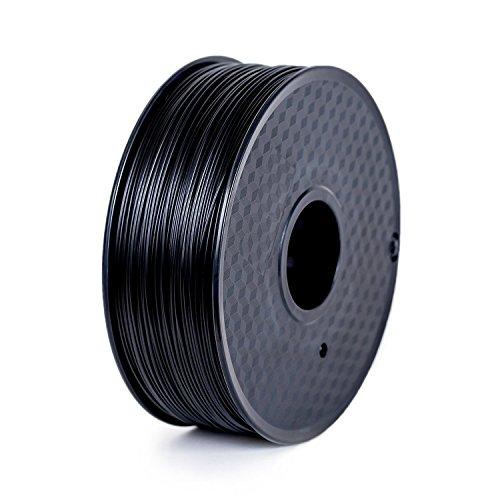 Paramount 3D PLA (Matte Black) 1.75mm 1kg Filament [BLACK100M]