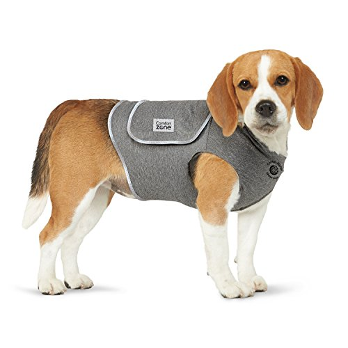 Comfort Zone Calming Vest for Dogs, Small, For Thunder and Anxiety